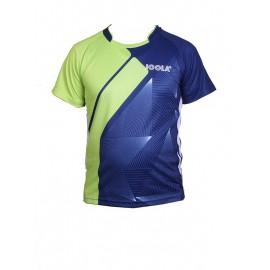 تی شرت جولا Dryplay سبز آبی