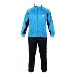 ست گرمکن و شلوار مردانه باترفلای رنگ آبی